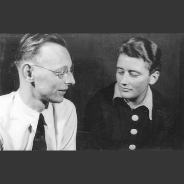 (Carl Orff and Gunild Keetman around 1937)