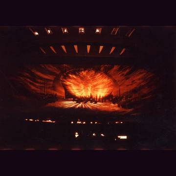 (Stage design for the first performance in Salzburg 1973)