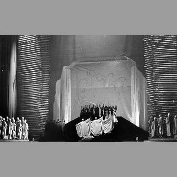 (Stage photo of the first performance 1953)