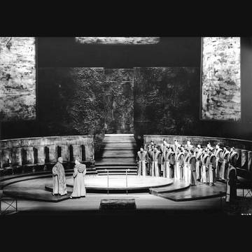 (Stage photo, State Opera Vienna 1961)