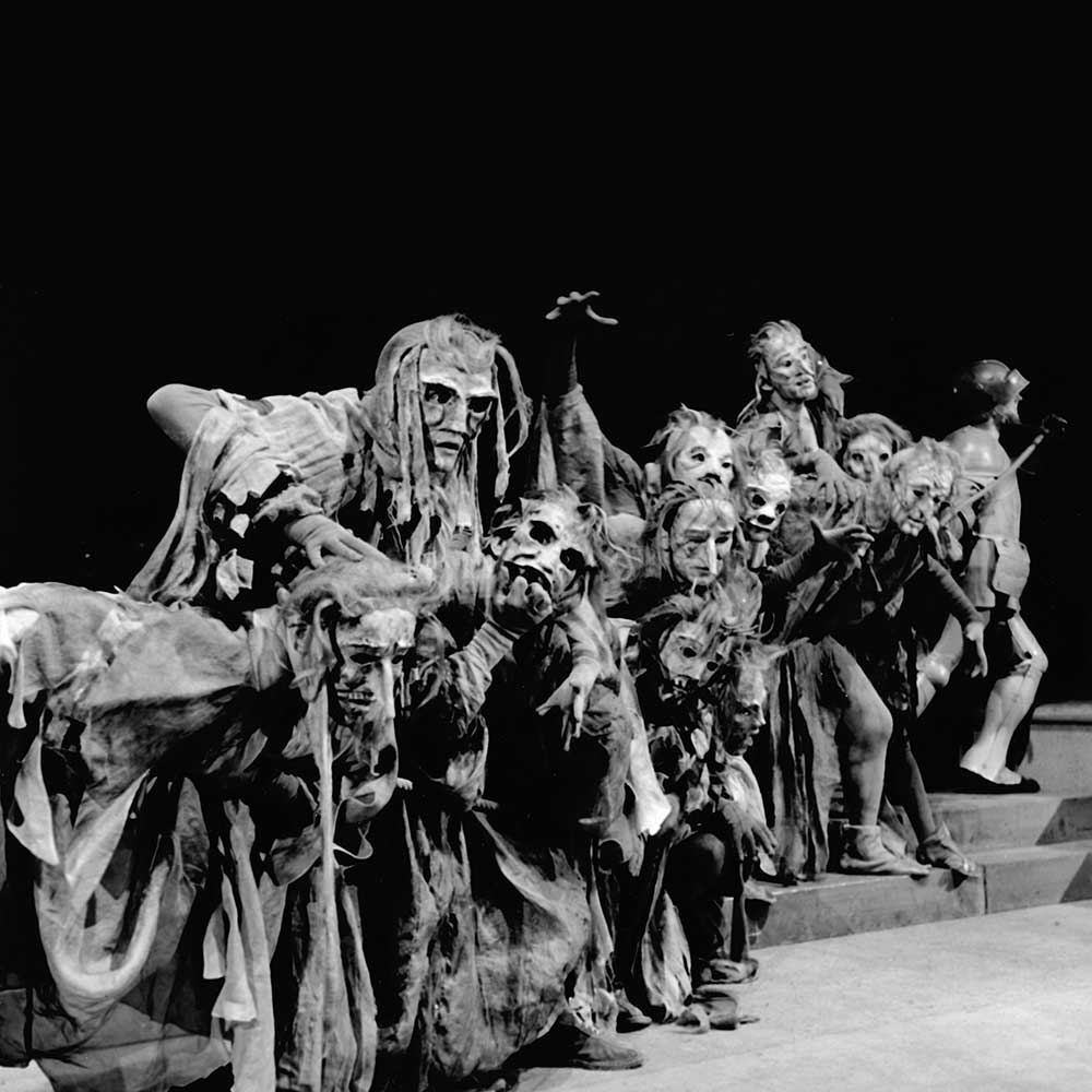 (Witches' scene, Prince Regent Theatre Munich 1947)