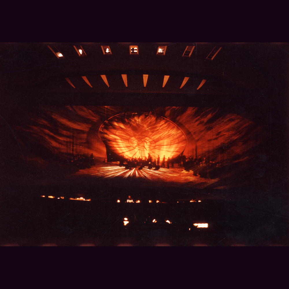 (Stage photo of the first performance in Salzburg 1973)
