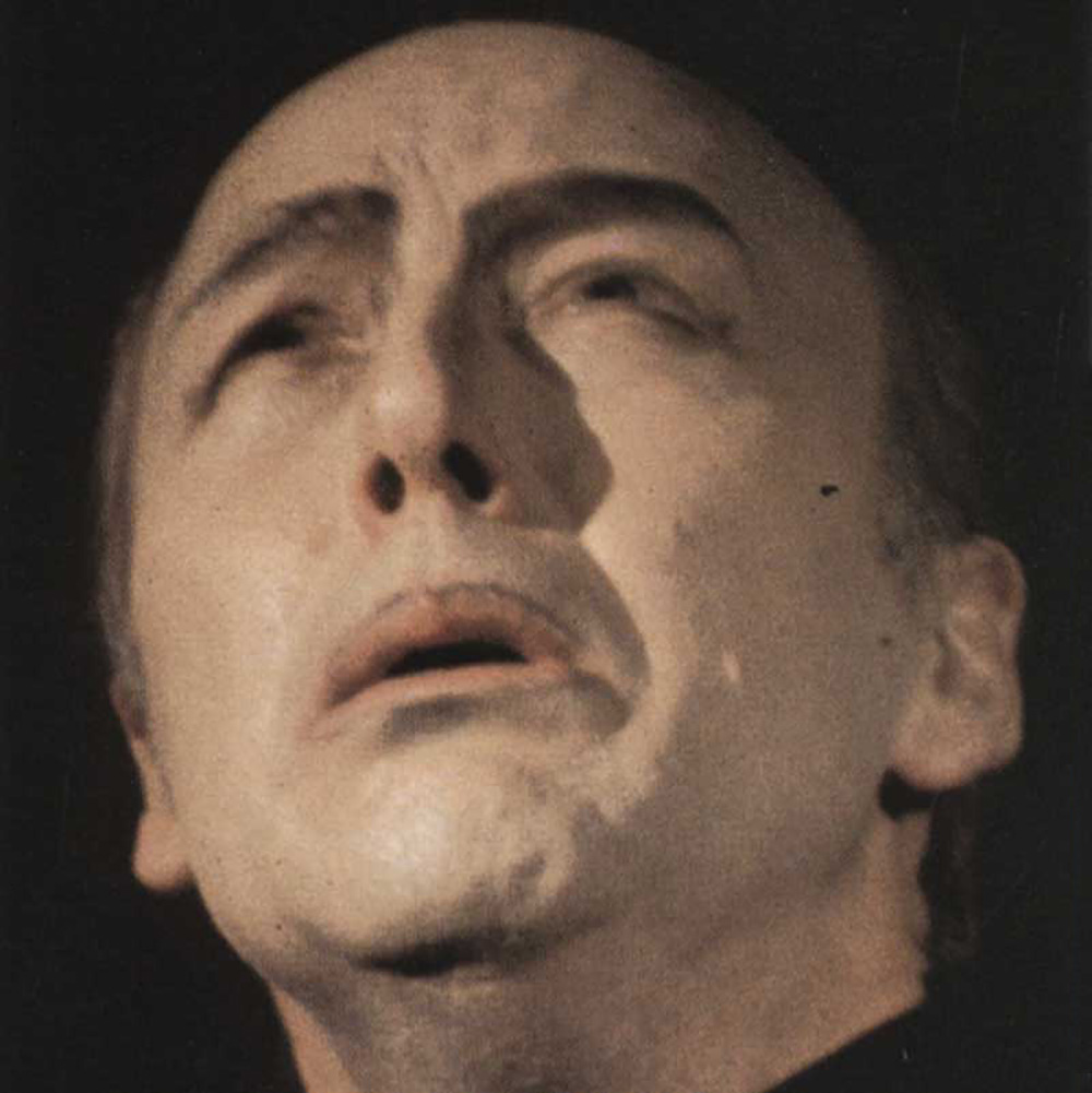 (Carlos Alexander in the title role, first performance 1968)